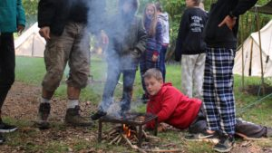 Scout Camp at Downe Scout Centre – May 2018