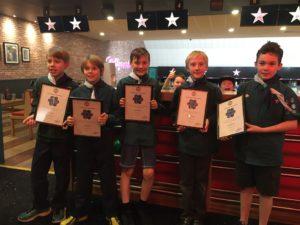 Senior Cubs Attend Silver Award Presentation