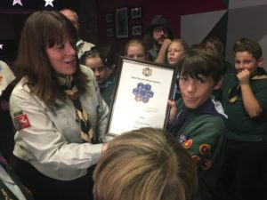 Cubs Silver Award Presentations – October 2018