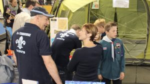 Our Scouts help Ross Kemp Open GO Outdoor in Tonbridge